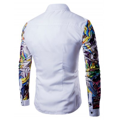 Men Fashion Button Down Long Sleeve Splicing ShirtMens Shirts<br>Men Fashion Button Down Long Sleeve Splicing Shirt<br><br>Material: Cotton, Polyester<br>Package Contents: 1 x Shirt<br>Package size: 40.00 x 30.00 x 3.00 cm / 15.75 x 11.81 x 1.18 inches<br>Package weight: 0.3300 kg<br>Product weight: 0.2800 kg