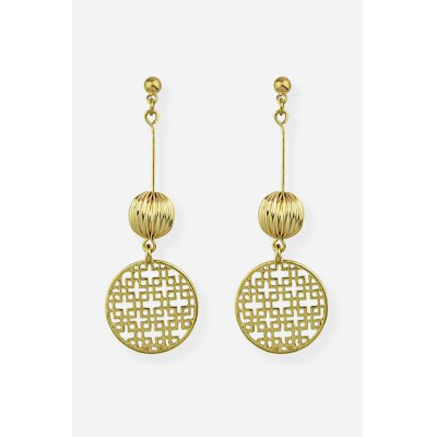 Women Hollow Alloy Fashionable Exquisite Europe Earrings