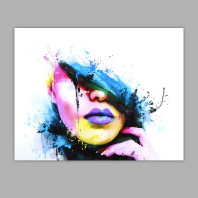 Canvas Print Painting Colorful Beauty Home Decoration