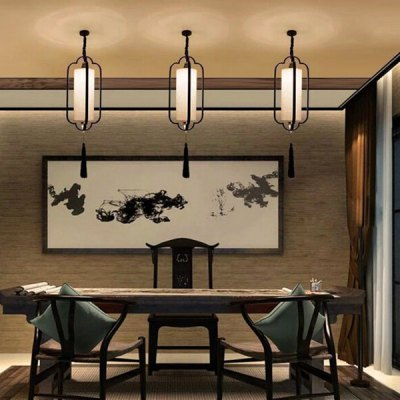 New Chinese Simple Pendant Light 220VPendant Light<br>New Chinese Simple Pendant Light 220V<br><br>Battery Included: No<br>Bulb Base: E27<br>Bulb Included: No<br>Chain / Cord Length ( CM ): 50<br>Features: Designers<br>Fixture Height ( CM ): 57<br>Fixture Length ( CM ): 26<br>Fixture Width ( CM ): 26<br>Light Direction: Ambient Light<br>Number of Bulb: 1 Bulb<br>Number of Bulb Sockets: 1<br>Package Contents: 1 x Light, 1 x Assembly Parts<br>Package size (L x W x H): 36.00 x 36.00 x 65.00 cm / 14.17 x 14.17 x 25.59 inches<br>Package weight: 1.5300 kg<br>Product weight: 1.0000 kg<br>Shade Material: Cloth, Iron<br>Style: Modern/Contemporary<br>Suggested Room Size: 15 - 20?<br>Suggested Space Fit: Indoors<br>Type: Pendant Light<br>Voltage ( V ): AC220