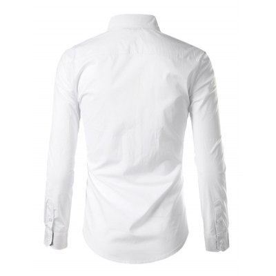 Men Fashion Button Down Long Sleeve Inner Contrast ShirtMens Shirts<br>Men Fashion Button Down Long Sleeve Inner Contrast Shirt<br><br>Material: Cotton, Polyester<br>Package Contents: 1 x Shirt<br>Package size: 40.00 x 30.00 x 2.00 cm / 15.75 x 11.81 x 0.79 inches<br>Package weight: 0.3300 kg<br>Product weight: 0.2500 kg