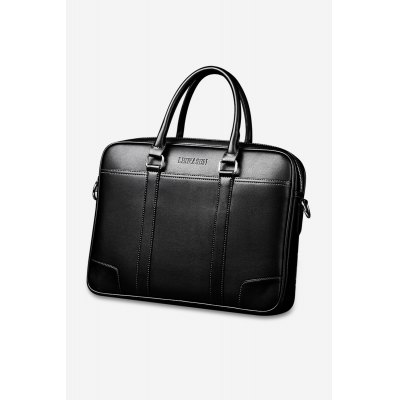 Leisure Durable Business Shoulder Bag + Wallet for Men