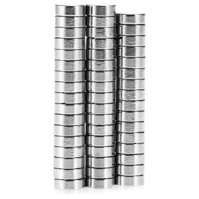 50pcs N38 8 x 3mm NdFeB Mini Cylinder Magnet
