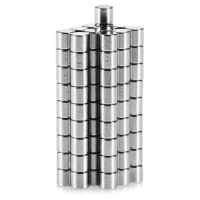 100pcs N38 3 x 3mm Mini NdFeB Cylinder Magnet