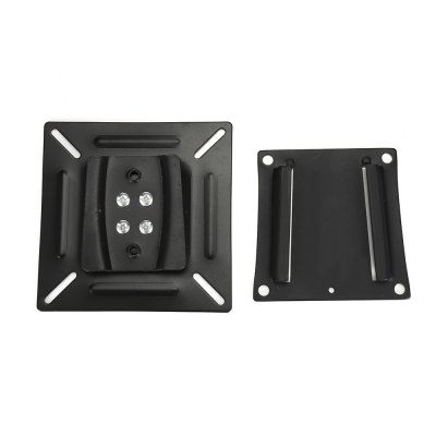 Stainless Steel Wall Mount BracketTV Wall Mount<br>Stainless Steel Wall Mount Bracket<br><br>Color: Black<br>Material: Stainless Steel<br>Package Contents: 1 x Wall Mount Bracket, 1 x Screw Pack<br>Package size (L x W x H): 13.00 x 13.00 x 3.00 cm / 5.12 x 5.12 x 1.18 inches<br>Package weight: 0.4450 kg<br>Product size (L x W x H): 11.50 x 11.50 x 1.00 cm / 4.53 x 4.53 x 0.39 inches<br>Product weight: 0.3630 kg