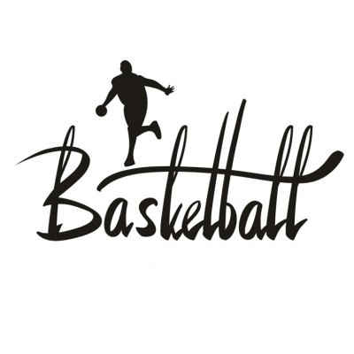 DIY Basketball Removable Wall Sticker Wallpaper
