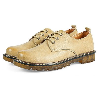 Vintage Flat Casual Leather Shoes for Women