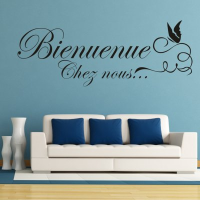 French Style Wall Sticker