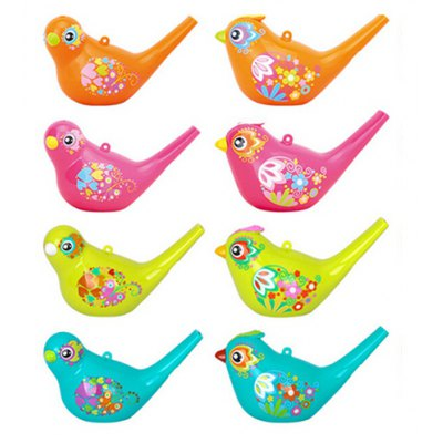 1PC Colored Drawing Waterfowl Style Whistle Musical Instrument
