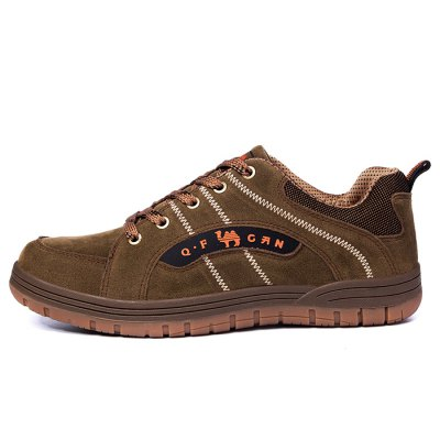 ZHJLUT Slip Resistance Lace Up Climbing Outdoor Shoes for MenAthletic Shoes<br>ZHJLUT Slip Resistance Lace Up Climbing Outdoor Shoes for Men<br><br>Brand: ZHJLUT<br>Closure Type: Lace-Up<br>Contents: 1 x Pair of Shoes<br>Function: Slip Resistant<br>Lining Material: Mesh<br>Materials: matte-leather, Rubber<br>Occasion: Outdoor Clothing<br>Outsole Material: Rubber<br>Package Size ( L x W x H ): 31.00 x 21.00 x 11.00 cm / 12.2 x 8.27 x 4.33 inches<br>Package Weights: 0.94kg<br>Pattern Type: Solid<br>Style: Casual, Leisure, Comfortable<br>Toe Shape: Round Toe<br>Type: Hiking Shoes<br>Upper Material: Leather