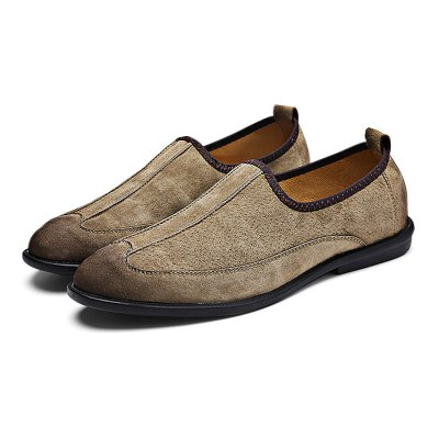 Slip On Slip Resistance Stitching Leather Boat Shoes for MenCasual Shoes<br>Slip On Slip Resistance Stitching Leather Boat Shoes for Men<br><br>Closure Type: Slip-On<br>Contents: 1 x Pair of Shoes<br>Function: Slip Resistant<br>Materials: Rubber, Leather<br>Occasion: Casual, Daily<br>Outsole Material: Rubber<br>Package Size ( L x W x H ): 33.00 x 22.00 x 11.00 cm / 12.99 x 8.66 x 4.33 inches<br>Package Weights: 0.98kg<br>Pattern Type: Solid<br>Seasons: Autumn,Spring<br>Style: Modern, Leisure, Fashion, Comfortable, Casual, Business<br>Toe Shape: Round Toe<br>Type: Casual Leather Shoes<br>Upper Material: Leather
