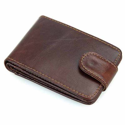 Leather Anti-scan Card Holder