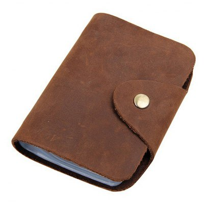 Leather Simple Fashion Card Holder