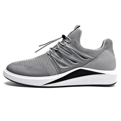 Slip Resistance Breathable Mesh Running Sneakers  for MenAthletic Shoes<br>Slip Resistance Breathable Mesh Running Sneakers  for Men<br><br>Closure Type: Lace-Up<br>Contents: 1 x Pair of Shoes<br>Decoration: Weave<br>Function: Slip Resistant<br>Materials: Woven Fabric, Rubber<br>Occasion: Sports, Daily, Outdoor Clothing, Running<br>Outsole Material: Rubber<br>Package Size ( L x W x H ): 33.00 x 24.00 x 13.00 cm / 12.99 x 9.45 x 5.12 inches<br>Package Weights: 0.83kg<br>Pattern Type: Solid<br>Seasons: Autumn,Spring,Summer<br>Style: Leisure, Comfortable, Casual<br>Toe Shape: Round Toe<br>Type: Sports Shoes<br>Upper Material: Mesh,Woven Fabric
