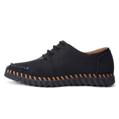 Slip Resistance Stitching Lace Up Doug Shoes for MenMen's Oxford<br>Slip Resistance Stitching Lace Up Doug Shoes for Men<br><br>Closure Type: Lace-Up<br>Contents: 1 x Pair of Shoes<br>Function: Slip Resistant<br>Materials: Microfiber, Rubber<br>Occasion: Casual, Daily<br>Outsole Material: Rubber<br>Package Size ( L x W x H ): 31.00 x 18.00 x 12.00 cm / 12.2 x 7.09 x 4.72 inches<br>Package Weights: 0.91kg<br>Pattern Type: Solid<br>Seasons: Autumn,Spring<br>Style: Fashion, Comfortable, Casual<br>Toe Shape: Round Toe<br>Type: Casual Shoes<br>Upper Material: Microfiber