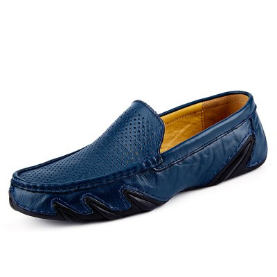Male Business Hollow Soft Pattern Slip On Leather ShoesMen's Oxford<br>Male Business Hollow Soft Pattern Slip On Leather Shoes<br><br>Closure Type: Slip-On<br>Contents: 1 x Pair of Shoes<br>Decoration: Hollow Out<br>Function: Slip Resistant<br>Materials: Rubber, Leather<br>Occasion: Casual, Daily<br>Outsole Material: Rubber<br>Package Size ( L x W x H ): 31.00 x 21.00 x 11.00 cm / 12.2 x 8.27 x 4.33 inches<br>Package Weights: 0.755kg<br>Pattern Type: Solid<br>Seasons: Autumn,Spring<br>Style: Modern, Leisure, Comfortable, Casual, Business<br>Toe Shape: Round Toe<br>Type: Casual Leather Shoes<br>Upper Material: Leather