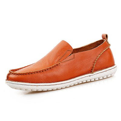 Male Casual Soft Slip On Stitching Leather Boat ShoesMen's Oxford<br>Male Casual Soft Slip On Stitching Leather Boat Shoes<br><br>Closure Type: Slip-On<br>Contents: 1 x Pair of Shoes<br>Function: Slip Resistant<br>Materials: Rubber, Leather<br>Occasion: Casual, Daily<br>Outsole Material: Rubber<br>Package Size ( L x W x H ): 31.00 x 21.00 x 11.00 cm / 12.2 x 8.27 x 4.33 inches<br>Package Weights: 0.79kg<br>Pattern Type: Solid<br>Seasons: Autumn,Spring<br>Style: Modern, Leisure, Fashion, Comfortable, Casual<br>Toe Shape: Round Toe<br>Type: Casual Leather Shoes<br>Upper Material: Leather