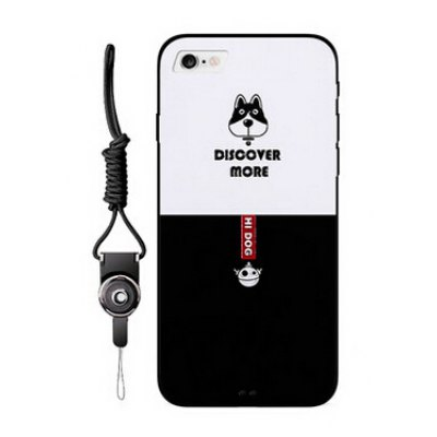 Cute Dog Pattern Cover Case for iPhone 7