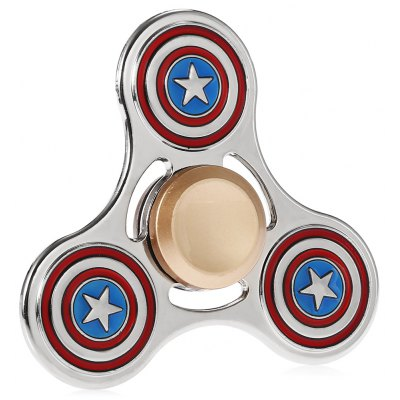 Classic American Style Alloy Fidget Tri-spinner