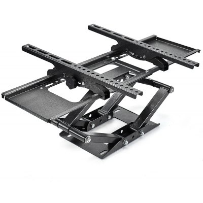 Leigu Dual Arm Wall Mount Bracket for 32 - 70 inch Flat Screen