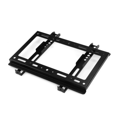Stainless Steel Wall Mount Bracket for 14 - 32 inch TVTV Wall Mount<br>Stainless Steel Wall Mount Bracket for 14 - 32 inch TV<br><br>Color: Black<br>Material: Stainless Steel<br>Package Contents: 1 x Wall Mount Bracket, 1 x Screw Pack<br>Package size (L x W x H): 31.00 x 22.00 x 4.00 cm / 12.2 x 8.66 x 1.57 inches<br>Package weight: 0.7250 kg<br>Product size (L x W x H): 28.50 x 19.50 x 1.50 cm / 11.22 x 7.68 x 0.59 inches<br>Product weight: 0.4300 kg