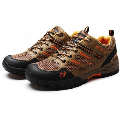 ZHJLUT Slip Resistance Lace Up Outdoor Shoes for Men