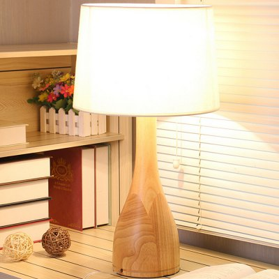 Modern Simple Style Wooden Table Lamp 220V