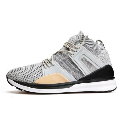 Male Breathable Lace Up Walking Sports SneakersAthletic Shoes<br>Male Breathable Lace Up Walking Sports Sneakers<br><br>Closure Type: Lace-Up<br>Contents: 1 x Pair of Shoes<br>Decoration: Weave<br>Materials: PU, Woven Fabric<br>Occasion: Sports, Running, Outdoor Clothing, Casual<br>Outsole Material: PU<br>Package Size ( L x W x H ): 31.00 x 20.00 x 16.00 cm / 12.2 x 7.87 x 6.3 inches<br>Package Weights: 0.95kg<br>Seasons: Autumn,Spring,Summer<br>Style: Leisure, Comfortable, Casual<br>Toe Shape: Round Toe<br>Type: Sports Shoes<br>Upper Material: Woven Fabric