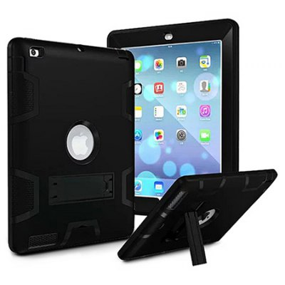 Armor Kickstand Holder Silicone Tablet Case for iPad mini 4