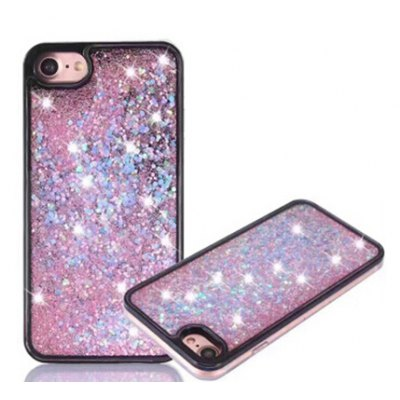 Fancy Paillette Stars Style PC Mobile Phone Cover for iPhone 7