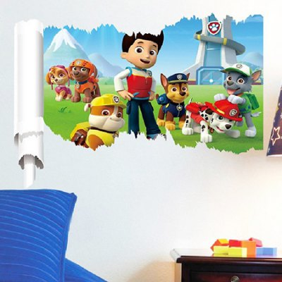 Creative Household Decorative Cartoon Wall StickerWall Stickers<br>Creative Household Decorative Cartoon Wall Sticker<br><br>Functions: Decorative Wall Stickers<br>Hang In/Stick On: Bathroom,Bedrooms,Living Rooms<br>Material: Vinyl(PVC)<br>Package Contents: 1 x Wall Sticker<br>Package size (L x W x H): 50.00 x 5.00 x 5.00 cm / 19.69 x 1.97 x 1.97 inches<br>Package weight: 0.1500 kg<br>Product size (L x W x H): 70.00 x 50.00 x 0.20 cm / 27.56 x 19.69 x 0.08 inches<br>Product weight: 0.1100 kg