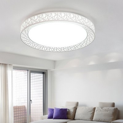 Modern Round LED Ceiling Light Creative Lamp 220VFlush Ceiling Lights<br>Modern Round LED Ceiling Light Creative Lamp 220V<br><br>Beam Angle: 180 Degree<br>Features: Remote-Controlled, Round Shape, Dimmable<br>Illumination Field: 5 - 8 Square Meter<br>LED Number : 48<br>Luminous Flux: 2400<br>Optional Light Color: Natural White,Warm White,White<br>Package Contents: 1 x LED Ceiling Light, 1 x Remote Controller<br>Package size (L x W x H): 40.00 x 40.00 x 11.00 cm / 15.75 x 15.75 x 4.33 inches<br>Package weight: 3.5300 kg<br>Product weight: 3.0000 kg<br>Sheathing Material: Acrylic<br>Type: Ceiling Lights<br>Voltage (V): 220V<br>Wattage (W): 24<br>Wavelength / CCT: 3500K,4200K,6500K