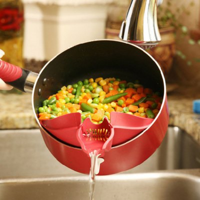 High-quality Silicone Strainer Kitchen Gadget