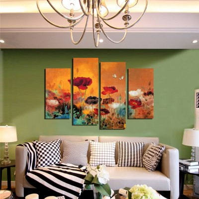 4PCS Poppy Flower Printed Canvas Wall StickerWall Stickers<br>4PCS Poppy Flower Printed Canvas Wall Sticker<br><br>Art Style: Oil Paiting<br>Functions: Decorative Wall Stickers<br>Hang In/Stick On: Bedrooms,Cafes,Hotels,Living Rooms,Offices<br>Material: Canvas<br>Package Contents: 4 x Poppy Flower Printed Canvas Wall Sticker<br>Package size (L x W x H): 42.00 x 6.00 x 6.00 cm / 16.54 x 2.36 x 2.36 inches<br>Package weight: 0.4000 kg<br>Product size (L x W x H): 120.00 x 80.00 x 0.10 cm / 47.24 x 31.5 x 0.04 inches<br>Product Type: Art Print<br>Product weight: 0.3400 kg<br>Subjects: Botanical