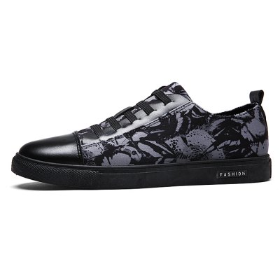 Simple Slip Resistance Lace Up Leather Shoes for MenCasual Shoes<br>Simple Slip Resistance Lace Up Leather Shoes for Men<br><br>Closure Type: Lace-Up<br>Contents: 1 x Pair of Shoes<br>Function: Slip Resistant<br>Materials: Leather, Rubber, Fabric<br>Occasion: Daily, Casual<br>Outsole Material: Rubber<br>Package Size ( L x W x H ): 33.00 x 24.00 x 13.00 cm / 12.99 x 9.45 x 5.12 inches<br>Package Weights: 0.55kg<br>Pattern Type: Solid<br>Seasons: Autumn,Spring<br>Style: Modern, Leisure, Fashion, Casual<br>Toe Shape: Round Toe<br>Type: Casual Shoes<br>Upper Material: Cotton Fabric,Leather