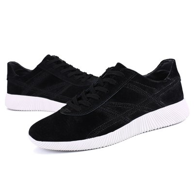 Male Casual Athletic Outdoor Lace Up Sports SneakersCasual Shoes<br>Male Casual Athletic Outdoor Lace Up Sports Sneakers<br><br>Closure Type: Lace-Up<br>Contents: 1 x Pair of Shoes<br>Function: Slip Resistant<br>Materials: Rubber, Suede<br>Occasion: Sports, Outdoor Clothing, Daily, Casual<br>Outsole Material: Rubber<br>Package Size ( L x W x H ): 33.00 x 22.00 x 11.00 cm / 12.99 x 8.66 x 4.33 inches<br>Package Weights: 0.98kg<br>Pattern Type: Solid<br>Seasons: Autumn,Spring<br>Style: Leisure, Comfortable, Casual<br>Toe Shape: Round Toe<br>Type: Sports Shoes<br>Upper Material: Suede