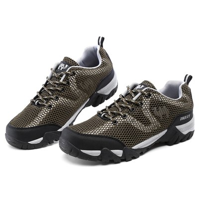 ZHJLUT Mesh Lace Up Light Outdoor Sneakers for MenAthletic Shoes<br>ZHJLUT Mesh Lace Up Light Outdoor Sneakers for Men<br><br>Brand: ZHJLUT<br>Closure Type: Lace-Up<br>Contents: 1 x Pair of Shoes<br>Function: Slip Resistant<br>Materials: PU, Rubber, Mesh<br>Occasion: Casual, Daily, Outdoor Clothing, Sports<br>Outsole Material: Rubber<br>Package Size ( L x W x H ): 31.00 x 21.00 x 11.00 cm / 12.2 x 8.27 x 4.33 inches<br>Package Weights: 0.88kg<br>Seasons: Autumn,Spring,Summer<br>Style: Leisure, Comfortable, Casual<br>Toe Shape: Round Toe<br>Type: Hiking Shoes<br>Upper Material: Mesh,PU
