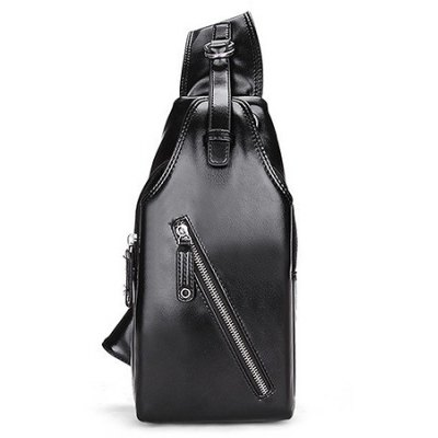 Men PU Fashion Chest Bag