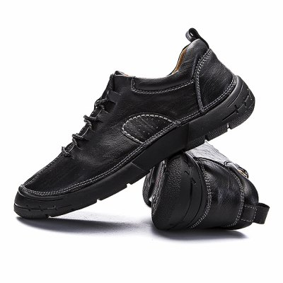 Male Breathable Slip Resistance Lace Up Leather ShoesMen's Oxford<br>Male Breathable Slip Resistance Lace Up Leather Shoes<br><br>Closure Type: Lace-Up<br>Contents: 1 x Pair of Shoes<br>Function: Slip Resistant<br>Materials: Rubber, Leather<br>Occasion: Office, Daily, Casual<br>Outsole Material: Rubber<br>Package Size ( L x W x H ): 33.00 x 22.00 x 11.00 cm / 12.99 x 8.66 x 4.33 inches<br>Package Weights: 0.98kg<br>Pattern Type: Solid<br>Seasons: Autumn,Spring<br>Style: Leisure, Fashion, Comfortable, Casual, Business<br>Toe Shape: Round Toe<br>Type: Casual Leather Shoes<br>Upper Material: Leather