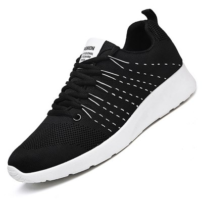 Male Athletic Weave Breathable Lace Up Sports SneakersMen's Sneakers<br>Male Athletic Weave Breathable Lace Up Sports Sneakers<br><br>Closure Type: Lace-Up<br>Contents: 1 x Pair of Shoes<br>Decoration: Weave<br>Function: Slip Resistant<br>Materials: Woven Fabric, Rubber<br>Occasion: Casual, Daily, Outdoor Clothing, Sports<br>Outsole Material: Rubber<br>Package Size ( L x W x H ): 33.00 x 24.00 x 13.00 cm / 12.99 x 9.45 x 5.12 inches<br>Package Weights: 0.82kg<br>Seasons: Autumn,Spring<br>Style: Leisure, Comfortable, Casual<br>Toe Shape: Round Toe<br>Type: Sports Shoes<br>Upper Material: Woven Fabric