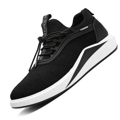 Male Athletic Slip Resistance Lace Up Knitted SneakersMen's Sneakers<br>Male Athletic Slip Resistance Lace Up Knitted Sneakers<br><br>Closure Type: Lace-Up<br>Contents: 1 x Pair of Shoes<br>Decoration: Weave<br>Function: Slip Resistant<br>Materials: Woven Fabric, Fabric, Rubber<br>Occasion: Sports, Outdoor Clothing, Daily, Casual<br>Outsole Material: Rubber<br>Package Size ( L x W x H ): 33.00 x 24.00 x 13.00 cm / 12.99 x 9.45 x 5.12 inches<br>Package Weights: 0.82kg<br>Seasons: Autumn,Spring<br>Style: Leisure, Comfortable, Casual<br>Toe Shape: Round Toe<br>Type: Sports Shoes<br>Upper Material: Cotton Fabric,Woven Fabric