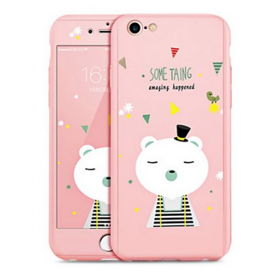 Bear Pattern Mobile Phone Case for iPhone 6 Plus / 6S Plus