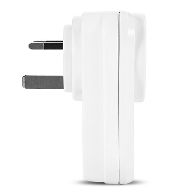LINGAN SWA1 Wireless Remote Control Smart SocketHome Appliances Accessories<br>LINGAN SWA1 Wireless Remote Control Smart Socket<br><br>Color: White<br>Material: PC<br>Model: SWA1<br>Package Contents: 1 x LINGAN SWA1 Smart Socket, 1 x English User Manual<br>Package size (L x W x H): 12.50 x 7.50 x 9.00 cm / 4.92 x 2.95 x 3.54 inches<br>Package weight: 0.2040 kg<br>Product size (L x W x H): 10.00 x 6.00 x 4.30 cm / 3.94 x 2.36 x 1.69 inches<br>Product weight: 0.1220 kg
