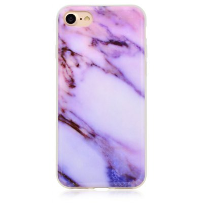 Dull Polish Marble Pattern Cover Case for iPhone 7