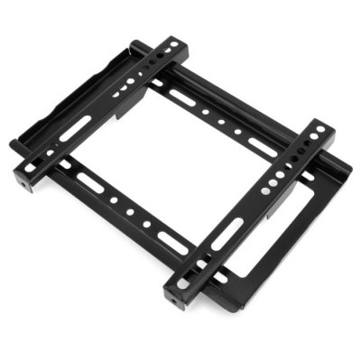 B27 Flat TV Wall Mount Bracket 14 - 42 inch HolderTV Wall Mount<br>B27 Flat TV Wall Mount Bracket 14 - 42 inch Holder<br><br>Color: Black<br>Material: Stainless Steel<br>Package Contents: 1 x B27 Universal Wall Mount Bracket, 1 x Screw Pack<br>Package size (L x W x H): 30.00 x 20.00 x 2.50 cm / 11.81 x 7.87 x 0.98 inches<br>Package weight: 26.0500 kg<br>Product size (L x W x H): 28.20 x 18.70 x 1.20 cm / 11.1 x 7.36 x 0.47 inches<br>Product weight: 25.0000 kg