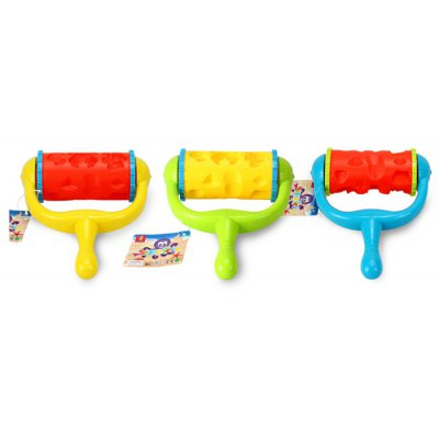1PC Lovely Infauna Pattern Plastic Sand Roller