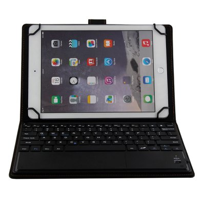 Detachable Bluetooth Keyboard Case for 9.0 - 10.1 inch Tablet PCTablet Accessories<br>Detachable Bluetooth Keyboard Case for 9.0 - 10.1 inch Tablet PC<br><br>Accessory type: Bluetooth Keyboard, Keyboard Case<br>Features: Detachable<br>For: Tablet PC<br>Material: PU Leather<br>Package Contents: 1 x Keyboard Case, 1 x USB Cable, 1 x English Manual<br>Package size (L x W x H): 32.00 x 20.00 x 4.30 cm / 12.6 x 7.87 x 1.69 inches<br>Package weight: 0.6310 kg<br>Product size (L x W x H): 26.80 x 18.10 x 2.30 cm / 10.55 x 7.13 x 0.91 inches<br>Product weight: 0.5210 kg