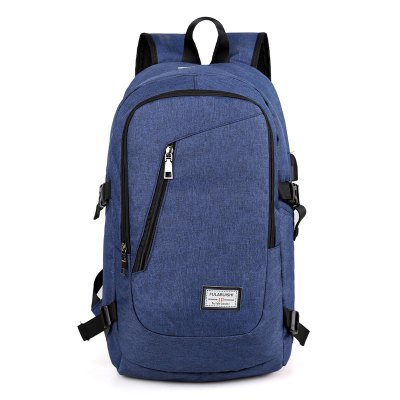 Leisure Water-resistant Laptop Backpack with USB PortBackpacks<br>Leisure Water-resistant Laptop Backpack with USB Port<br><br>Closure Type: Zip<br>Features: Wearable<br>Gender: Men<br>Material: Oxford Fabric<br>Package Size(L x W x H): 50.00 x 29.00 x 4.00 cm / 19.69 x 11.42 x 1.57 inches<br>Package weight: 0.6500 kg<br>Packing List: 1 x Backpack<br>Product weight: 0.5900 kg<br>Style: Casual, Business<br>Type: Backpacks