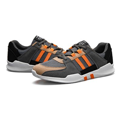 Male Casual Athletic Lace Up Split Joint Walking ShoesMen's Sneakers<br>Male Casual Athletic Lace Up Split Joint Walking Shoes<br><br>Closure Type: Lace-Up<br>Contents: 1 x Pair of Shoes<br>Decoration: Split Joint<br>Function: Slip Resistant<br>Materials: Fabric, Rubber<br>Occasion: Sports, Running, Outdoor Clothing, Daily, Casual<br>Outsole Material: Rubber<br>Package Size ( L x W x H ): 33.00 x 24.00 x 13.00 cm / 12.99 x 9.45 x 5.12 inches<br>Package Weights: 0.82kg<br>Seasons: Autumn,Spring<br>Style: Leisure, Fashion, Comfortable, Casual<br>Toe Shape: Round Toe<br>Type: Sports Shoes<br>Upper Material: Cotton Fabric
