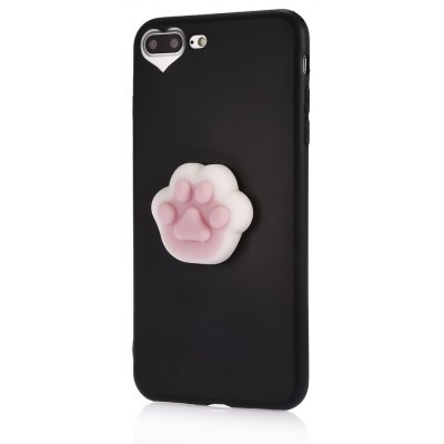 3D Solid Cat-pad Claw TPU Soft Phone Case for iPhone 7 Plus